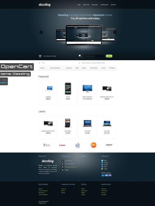 OpenCart-Dazzling