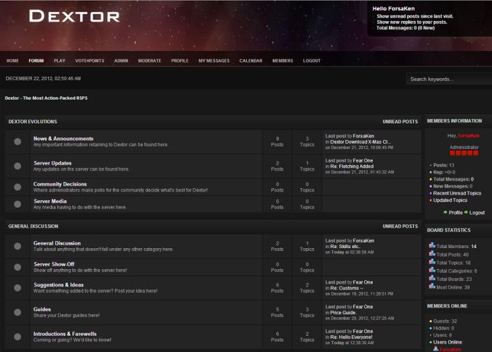 Forum SMF-Dextor
