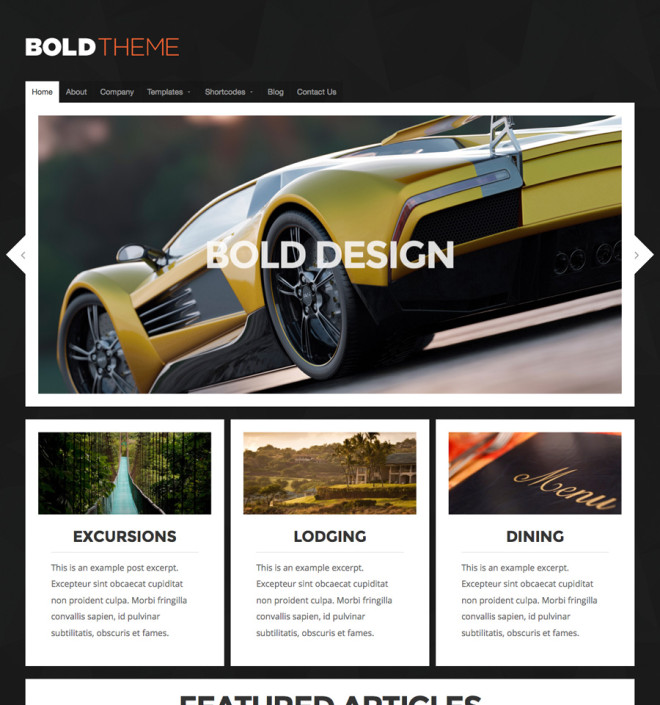 Blog WordPress-Bold